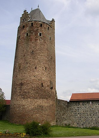 Fritzlar - Grey Tower