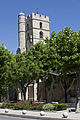 Frontignan-Église Saint Paul-Clocher-20130602.jpg