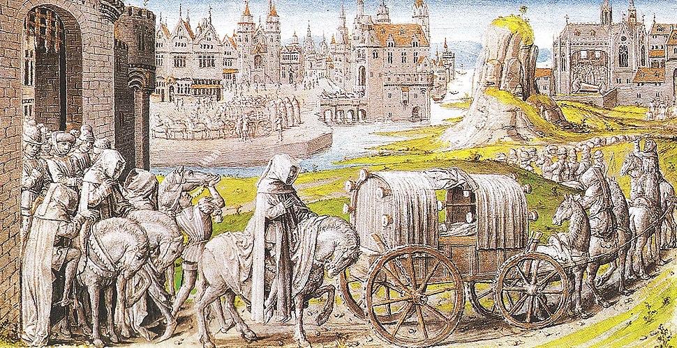 Funeral Cortege of Richard II