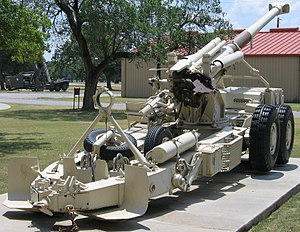Battle of Cuito Cuanavale - Rear view of a G5 howitzer.