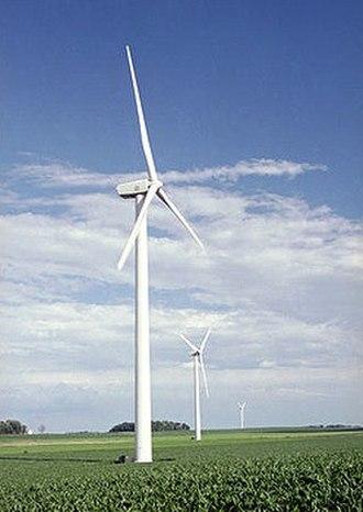 GE Wind Energy - GE 1.5MW wind turbine.