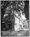 GENERAL VIEW, NORTHWEST CORNER - Daniel Ravenel House, Dependency, 68 Broad Street, Charleston, Charleston County, SC HABS SC,10-CHAR,136A-1.tif