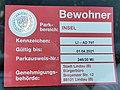 GER — BY – Landkreis Lindau (Bodensee) – Lindau (Bodensee) – Insel (Bewohner-Parkausweis) 2020.JPG