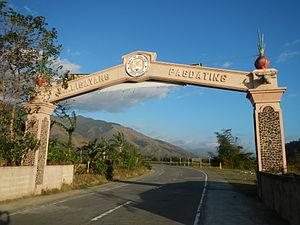 Gabaldon, Nueva Ecija - Welcome Arch