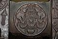Gajalaxmi - Medallion - 2nd Century BCE - Red Sand Stone - Bharhut Stupa Railing - Madhya Pradesh - Indian Museum - Kolkata 2012-11-16 1845.JPG