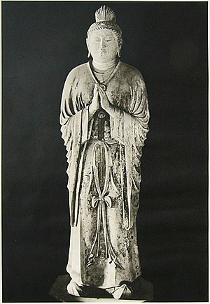 Candraprabha - Gakkō bosatsu, Nara period, Tōdai-ji, Nara