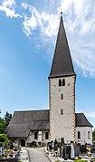 Gallizien Pfarrkirche hl Jakobus d Ä mit Friedhof 09052018 3203.jpg