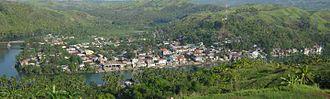 Gandara, Samar - Aerial view of the Poblacion