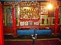 Gandhola Gompa altar.jpg
