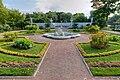 Garden of Tsaritsyn pavilion in Peterhof 02.jpg