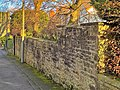Garden wall, The Castle, Burnley.jpg