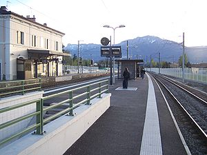 Gières - Grenoble-Universités train station
