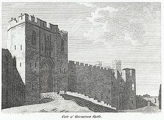 Gate of Caernarvon Castle