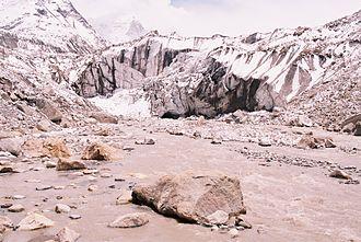 Gangotri Glacier - Gomukh