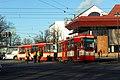 Gdańsk aleja Zwycięstwa – wykolejenie tramwaju (2).JPG
