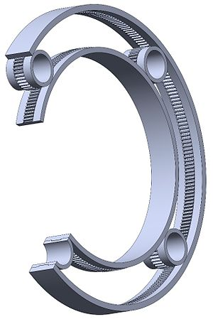 Rolling-element bearing - A gear bearing
