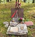 Gedenksteen. Locatie, Kerk van San Rocco met daaromheen de militaire begraafplaats in Peio Paese 02.jpg