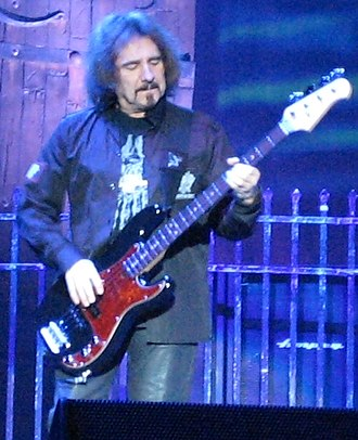 Geezer Butler - Geezer Butler performing with Heaven & Hell in 2007.