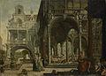 Gefantaseerd renaissance paleis. Rijksmuseum SK-A-2528.jpeg