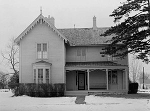 National Register of Historic Places listings in Linn County, Missouri - Image: Gen. Pershing boyhood home