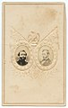 General George Thomas (left) and General William T. Sherman (right), Union Army (7045826391).jpg