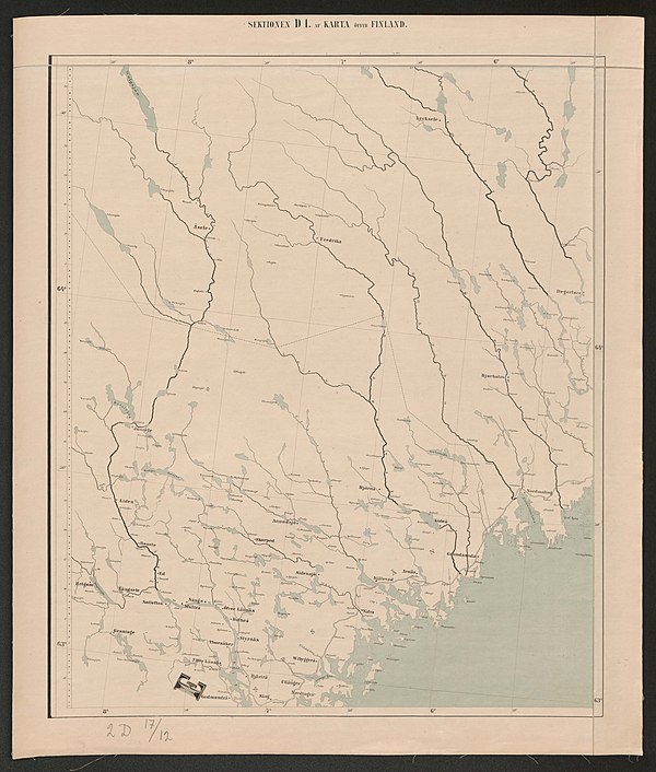 600px general map of the grand duchy of finland 1863 sheet d1