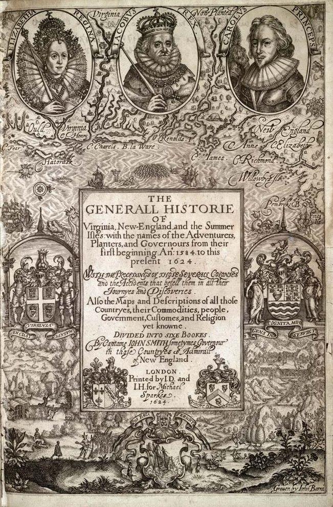 Generall Historie of Virginia