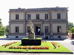 Félix Callet - Villa Bartholoni (court side)
