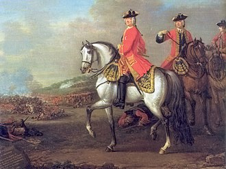 Commander-in-chief of the British Armed Forces - Image: George II Wootton 1743