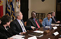 George Bush with Darfur advocates April 28, 2006.jpg