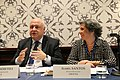 George Tsereteli and Isabel Santos in Washington, 3 November 2018 (44787897615).jpg