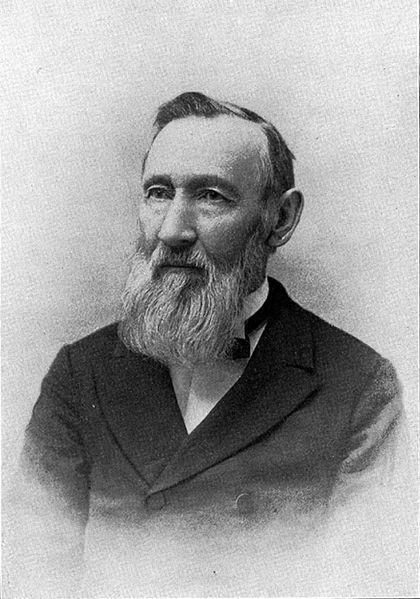 Portrait of George Vasey (1822-1893), Date unknown, by Unknown, Botanical Gazette, Vol. 18, No. 5. (
