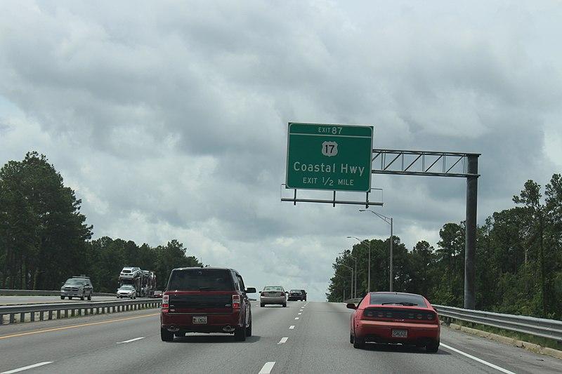 File:Georgia I95sb Exit 87 .5 mile.jpg