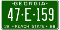 Georgia license plate 1968 graphic.png