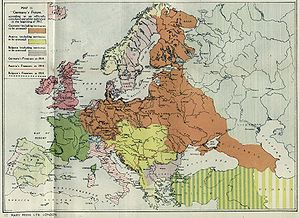 Territorial evolution of germany wikipedia world war i allied propaganda poster showing german expansionist ambitions gumiabroncs Choice Image