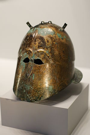 Corinthian helmet - Italo-Corinthian helmet, Getty Villa