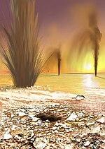 Geysers on Mars