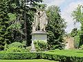 Giardino torrigiani, rotonda 13 statua pio fedi.JPG