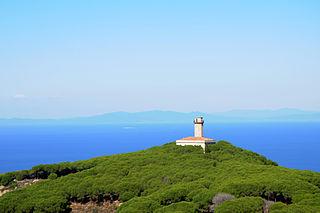 Isola del Giglio Comune in Tuscany, Italy