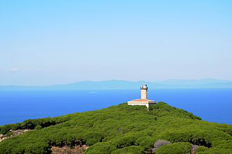 Isola del Giglio - Old Lighthouse on the north of the island