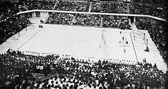 Gill Coliseum - Image: Gill Coliseum interior 1956