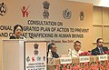 Girija Vyas addressing at the National Consultation on preventing and combating human trafficking with special focus on children and women, in New Delhi on August 03, 2007.jpg