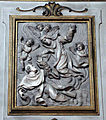 Girolamo ticciati, s. caterina de' ricci salva un carmelitano che sta per affogare, 1733-34.JPG