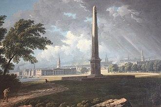John Knox (artist) - Glasgow Green by John Knox c.1810