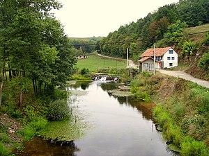 Glina (river) - Glina in Maljevac.