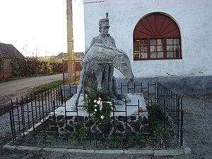 Glodeni, Mureș - The injured hussard