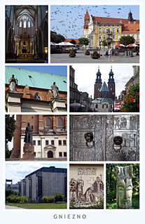 Gniezno Place in Greater Poland Voivodeship, Poland