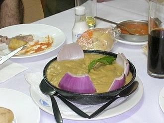 Gofio - A scalded gofio dish