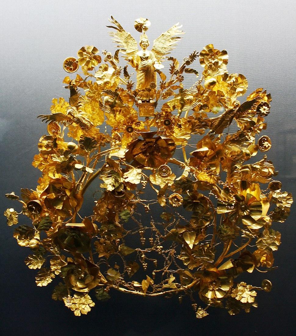 Goldkranz aus Armento Totengranz