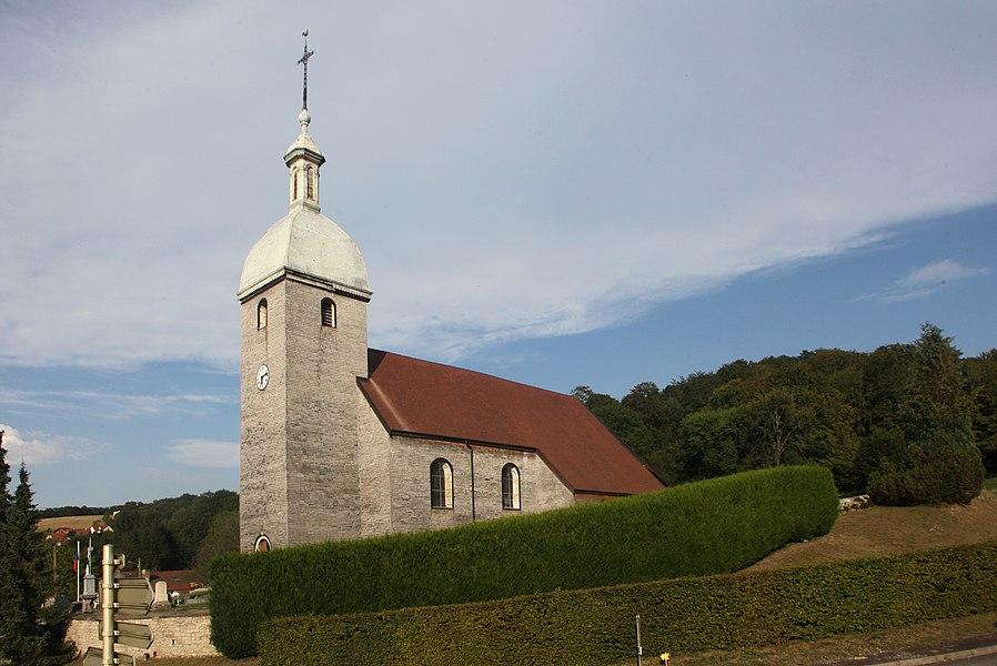 Église de Gonsans (Doubs).
